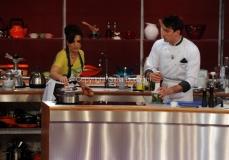 26/04/2013 Roma seconda puntata di La terra dei cuochi , ai fornelli Tosca D'Aquino