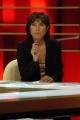 Gioia Botteghi/OMEGA Studio del tg la7 con la giornalista Patrizia Viola