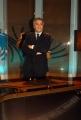 16/10/08 presentazione della nuova scenografia del tg3, nella foto Maurizio Mannoni
