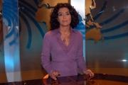 16/10/08 presentazione della nuova scenografia del tg3, nella foto Maria Rosaria De Medici