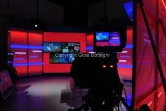31/07/2014 Roma Il nuovo studio del tgr lazio digitale