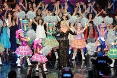 01/02/2014 Roma Prima puntata di Ti lascio una canzone, nella foto: Antonella Clerici