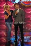 17/09/2011 Roma, prima puntata del programma TI LASCIO UNA CANZONE, nella foto Antonella Clerici con Beppe Fiorello