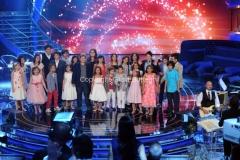 17/09/2011 Roma, prima puntata del programma TI LASCIO UNA CANZONE, nella foto i concorrenti