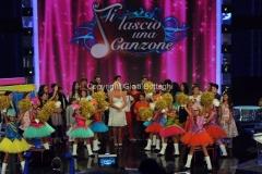 8/09/2012 Roma Prima puntata di Ti lascio una canzone, nella foto Antonella Clerici