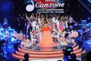 12/09/2015 Roma prima puntata della trasmissione di rai uno TI LASCIO UNA CANZONE, nella foto Antonella Clerici