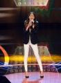 12/09/2015 Roma prima puntata della trasmissione di rai uno TI LASCIO UNA CANZONE, nella foto Martina Stoessel