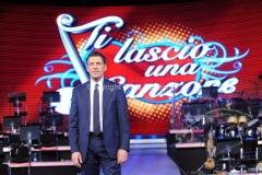 29/01/2014 Roma presentazione del programma di rai uno TI LASCIO UNA CANZONE, nella foto: Fabrizio Frizzi