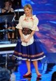 15/02/2014 Roma terza puntata di Ti lascio una canzone,nella foto Michelle Hunziker