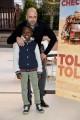 Foto/IPP/Gioia Botteghi Roma 27/12/2019 Presentazione del film Tolo Tolo, nella foto   Checco Zalone con Massor Said Byria Italy Photo Press - World Copyright