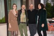 Foto/IPP/Gioia Botteghi Roma 27/12/2019 Presentazione del film Tolo Tolo, nella foto Sara Putignano, Checco Zalone, Gianni Daddario Italy Photo Press - World Copyright