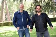 Foto/IPP/Gioia Botteghi Roma 11/04/2019 presentazione del film Torna a casa Jimi, nella foto: il regista Marios Piperides e Adam Bousdoukos Italy Photo Press - World Copyright