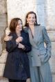 19/01/06 Presentazione del film TRAVAUX nelle foto: Carole Bouquet e la regista Brigitte Rouan