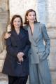 Gioia Botteghi/OMEGA 19/01/06 Presentazione del film TRAVAUX nelle foto: Carole Bouquet e la regista Brigitte Rouan