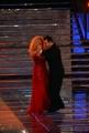 15/09/07 Prima puntata di IL TRENO DEI DESIDERI condotto da Antonella Clerici con lei nella foto il ballerino di tango Michel Angel Zotto