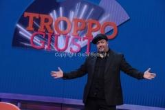 14/11/2014 Roma nuovo programma di raidue per otto puntate a partire da venerdì prossimo seconda serata, TROPPO GIUSTI, nella foto: GMax