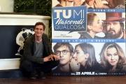 Foto/IPP/Gioia Botteghi 20/04/2018 Roma, Presentazione del film Tu mi nascondi qualcosa, nella foto: ALESSANDRO TIBERI  Italy Photo Press - World Copyright