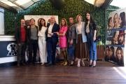 Foto/IPP/Gioia Botteghi 20/04/2018 Roma, Presentazione del film Tu mi nascondi qualcosa, nella foto: cast con il regista GIUSEPPE LOCONSOLE  Italy Photo Press - World Copyright