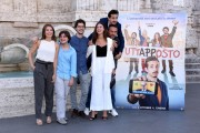 Foto/IPP/Gioia Botteghi Roma 27/09/2019 Presentata del film Tuttapposto, nella foto : cast con il reista Gianni Costantino Italy Photo Press - World Copyright