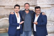 Foto/IPP/Gioia Botteghi Roma 27/09/2019 Presentata del film Tuttapposto, nella foto : il reista Gianni Costantino con Sergio Friscia e Roberto Lipari Italy Photo Press - World Copyright