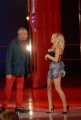 Pamela Anderson nella trasmissione Tutti pazzi per la tele con Luca Giurato