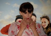 """Foto/IPP/Gioia BotteghiRoma 01/06/2021 Photocall del film """"tutti pazzi per Uma"""" nella foto : la regista SUSY LAUDE  Italy Photo Press - World Copyright"""