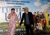 """Foto/IPP/Gioia BotteghiRoma 01/06/2021 Photocall del film """"tutti pazzi per Uma"""" nella foto : SUSY LAUDE e DINO ABBRESCIAItaly Photo Press - World Copyright"""