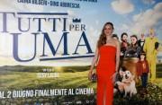 """Foto/IPP/Gioia BotteghiRoma 01/06/2021 Photocall del film """"tutti pazzi per Uma"""" nella foto : LAURA BILGERIItaly Photo Press - World Copyright"""