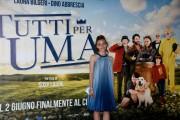"""Foto/IPP/Gioia Botteghi Roma 01/06/2021 Photocall del film """"tutti pazzi per Uma"""" nella foto :  Martina Galluccio Italy Photo Press - World Copyright"""