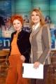 Gioia Botteghi/OMEGA 15/12/05TUTTO BENESSERE Daniela Rosati nel suo studio tv  con la regista Lella Artesi