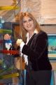 Gioia Botteghi/OMEGA 15/12/05TUTTO BENESSERE Daniela Rosati nel suo studio tv