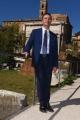 Foto/IPP/Gioia Botteghi 28/09/2018 Roma, Curia Iulia, Foro Romano, presentazione del programma Ulisse, rai uno, nella foto Marcello Ciannamea responsabile Rai del programma  Italy Photo Press - World Copyright