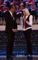 Foto/IPP/Gioia Botteghi Roma28/11/2018  registrazione del programma di rai uno Un Natale d'oro zecchino, in onda il 14\12, nella foto Raffaella Carrà con Carlo Conti Italy Photo Press - World Copyright