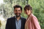 Foto/IPP/Gioia Botteghi 13/01/2017 Roma presentazione della fiction di rai uno  UN PASSO DAL CIELO 4, nella foto:    Rocio Munoz Morales e Enrico Ianniello