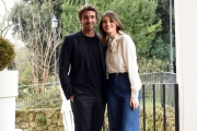 Foto/IPP/Gioia Botteghi 13/01/2017 Roma presentazione della fiction di rai uno  UN PASSO DAL CIELO 4, nella foto:   Daniele Liotti e Pilar Fogliati