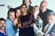 Foto/Gioia Botteghi 20/03/2018 Roma, presentazione del film Una festa esagerata, nella foto: Iaia Forte