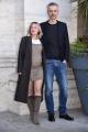 Foto/IPP/Gioia Botteghi Roma13/02/2019 Presentazione del film Un'avventura, nella foto: Il regista Marco Danieli con la compagna Italy Photo Press - World Copyright