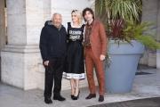 Foto/IPP/Gioia Botteghi Roma13/02/2019 Presentazione del film Un'avventura, nella foto: Mogol ( Giulio Rapetti ) con Riondino e Chiatti Italy Photo Press - World Copyright