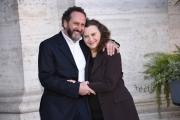 Foto/IPP/Gioia Botteghi Roma13/02/2019 Presentazione del film Un'avventura, nella foto:  Roberto Negri e Dora Romano Italy Photo Press - World Copyright