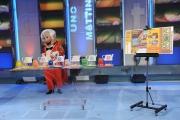 Roma 23/09/2009 Trasmissione UNO MATTINA, nella foto il gioco giornaliero della Lotteria Italia
