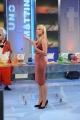 Roma 23/09/2009 Trasmissione UNO MATTINA, nella foto il gioco giornaliero della Lotteria Italia con Eleonora Daniele