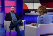 Foto/IPP/Gioia Botteghi Roma 19/12/2020 Uno mattina ospite Roberto Saviano Italy Photo Press - World Copyright