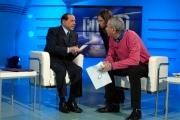 14/02/08 Berlusconi ospite di 1 mattina con Luca Giurato e Anna Maria Ammirati capo struttura