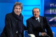 14/02/08 Berlusconi ospite di 1 mattina con Fabrizio Del Noce direttore di rai uno