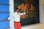 12/06/08 roma presentazione dei nuovi conduttori del programma rai _uno mattina estate_ veronica maya e massimo mignanelli