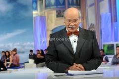 19/10/2013 Roma UNO MATTINA IN FAMIGLIA il metereologo Francesco Laurenzi