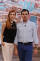 22/09/2012 Roma Trasmissione 1 mattina in famiglia, nella foto Miriam Leone e Tiberio Timperi