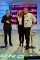 15/02/08 Walter Veltroni ospite di 1 mattina con Luca Giurato ed Eleonora Daniele