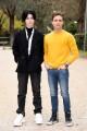 Foto/IPP/Gioia Botteghi Roma 20/01/2020 Presentazione del film Villetta con ospiti, nella foto: Ioan Tiberiu Dobrica e Monica Billiani Italy Photo Press - World Copyright