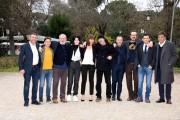 Foto/IPP/Gioia Botteghi Roma 20/01/2020 Presentazione del film Villetta con ospiti, nella foto: il cast Italy Photo Press - World Copyright